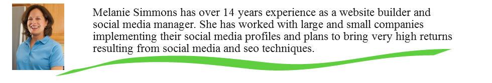 Melanie Simmons bio